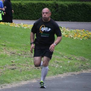 This is me in action at the trial for Horton Park, parkrun.