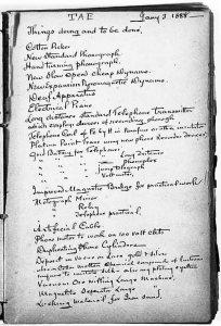Edison's list