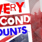 Every second counts!